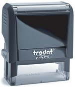 Trodat Printy 4912 - self-inking stamp with several ink colors and a convenient size for address, signatures, logos and more.