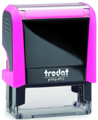 Trodat Printy 4912 Neon Pink Self-Inking Stamp