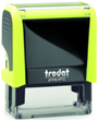 Trodat Printy 4912 Neon Yellow Self-Inking Stamp