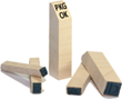 "Wood Peg Stamp 1/4"" high"
