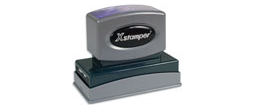 Stock Jumbo 2-Color Stamps