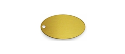 BKLTO - Luggage Tag Oval 2-1/2""