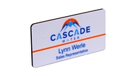 "NBS23 - Dye Sub 2""x3"" Full Color Name Badge"