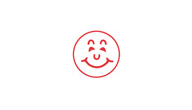 SHA11303 - SHA11303 - Stock Specialty Stamp - SMILEY FACE
