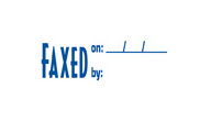 SHA1820 - SHA1820 - Stock Stamp - FAXED ON/BY