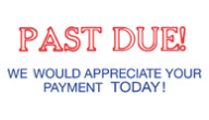 SHA3286 - SHA3286 - Jumbo Stock Stamp - PAST DUE!  WE WOULD APPRECIATE YOUR PAYMENT TODAY!