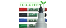 Artline EK-177 ECO-GREEN Permanent Marker - 2.0mm Bullet Tip