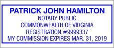 Trodat Professional 5204 Self Inking Stamp