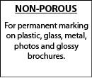 Non-Porous/Industrial Ink