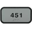 ADAF24 - Custom Framed ADA Signage 2x4
