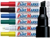 Artline EK-409 Paint Markers Chisel Tip