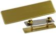 """NBUB1G - Uniform Badge Satin Gold 5/8""""x2-1/2"""""""