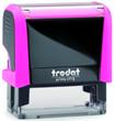 4913PN - Trodat Printy 4913 Neon Pink Self-Inking Stamp
