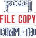 SHA8515 - SHA8515 - Spin 'n Stamp w/ ENTERED, FILE COPY, COMPLETED