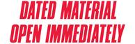 SHA3247 - SHA3247 - Jumbo Stock Stamp - DATED MATERIAL OPEN IMMEDIATELY